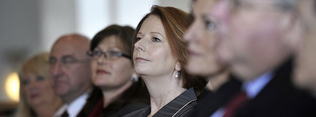 julia gillard announcing royal commission