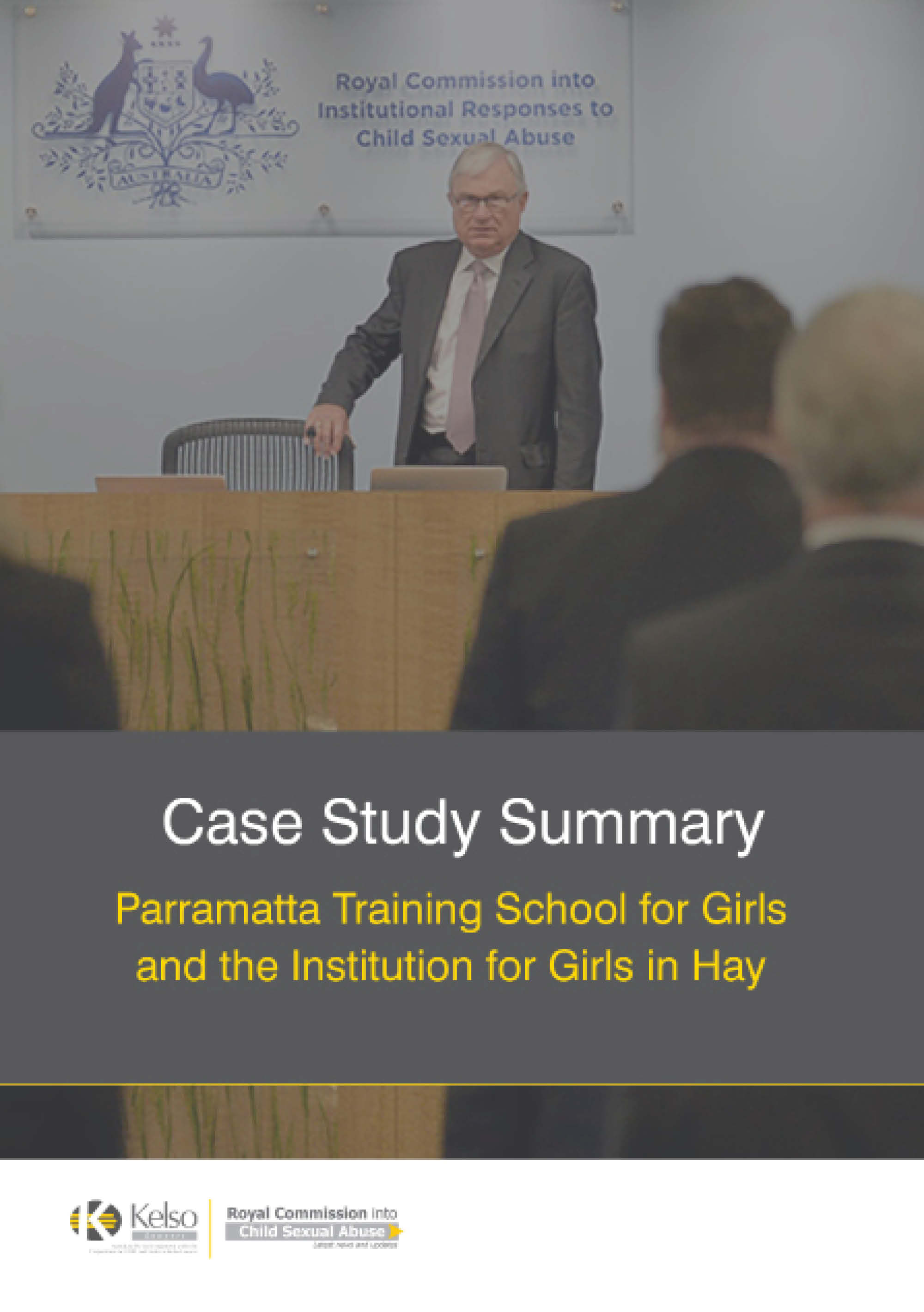 Parramatta Girls Home Case Study Summary