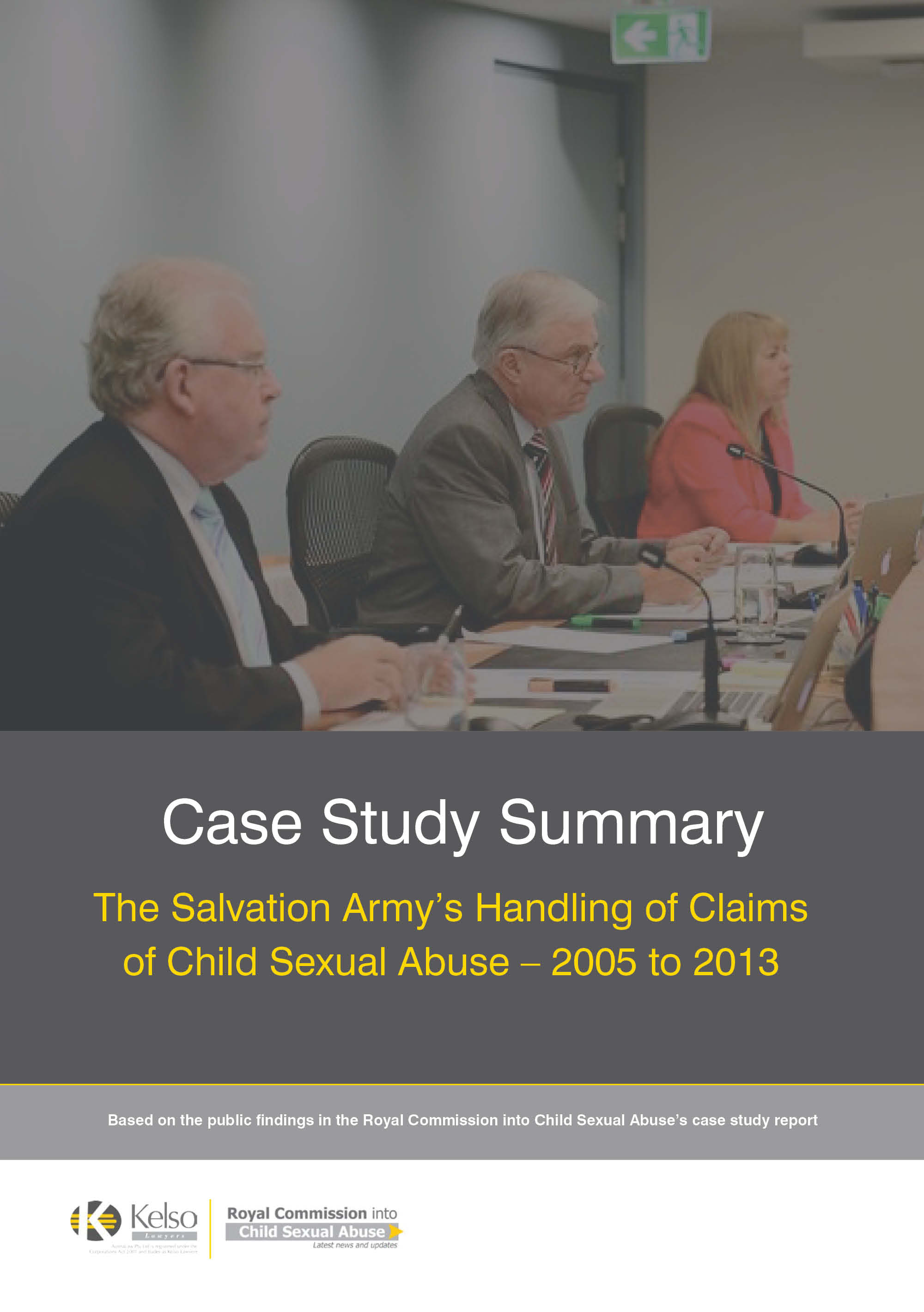 Salvation Army Case Study Summary