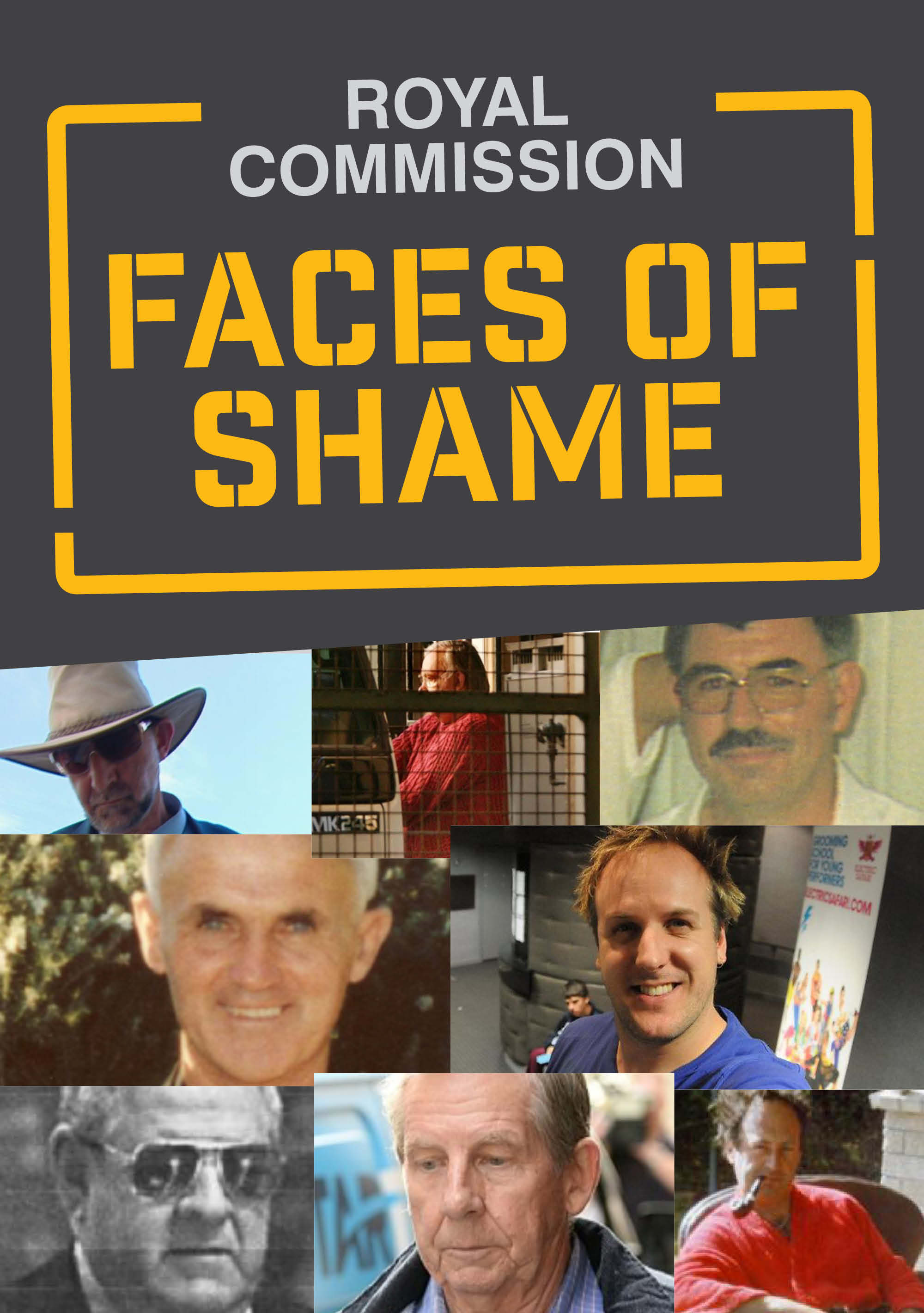 Royal Commission Faces of Shame